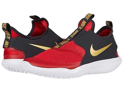 Nike Kids Flex Runner (Little Kid) (University Red/Metallic Gold) Kids Shoes