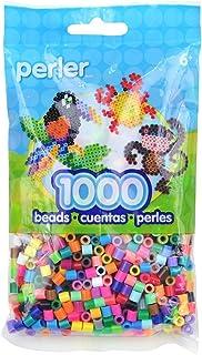 Bulk Buy: Perler Beads Multi Color Mix, 1,000 Count (3 Pack) 80-19000