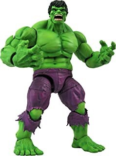 DIAMOND SELECT TOYS Marvel Select: Rampaging Hulk Action Figure, Multicolor