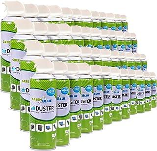 GreenBlue GB600 Air Duster 48x600ml Nettoyage atomiseur spray nettoyant pour air comprimé ozone amical OFFICE CLEAN (48)