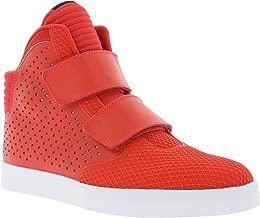 Nike Mens Flystepper 2K3 PRM Action Red White Casual Sneaker