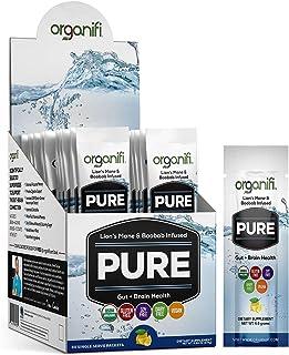 Organifi: Pure Smart Packs - Organic Brain Boost Superfood Solution - 30 Packets - Lemon Flavor - Revitalize & Alkalize fo...