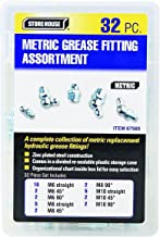 32 Piece Metric Grease Fittings