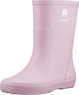 Celavi Unisex's Basic Wellies - Solid Rain Boot