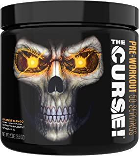 JNX Sports The Curse! Pre Workout Supplement - Intense Energy & Focus, Instant Strength Gains, Enhanced Blood Flow - Nitri...