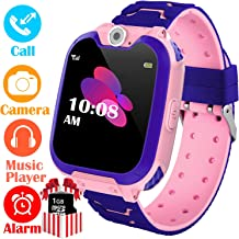 YENISEY Kids Smart Watch for Boys Girls - HD Touch Screen Sports Smartwatch Phone with Call Camera Games Recorder Alarm Music Player for Children Teen Students Age 3-12