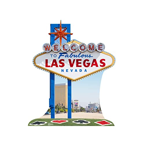 Advanced Graphics Vegas Sign Life Size Cardboard Cutout Standup