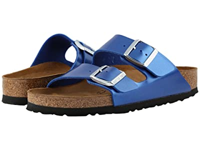 Birkenstock Arizona Birko-Flortm (Electric Metallic Ocean) Women