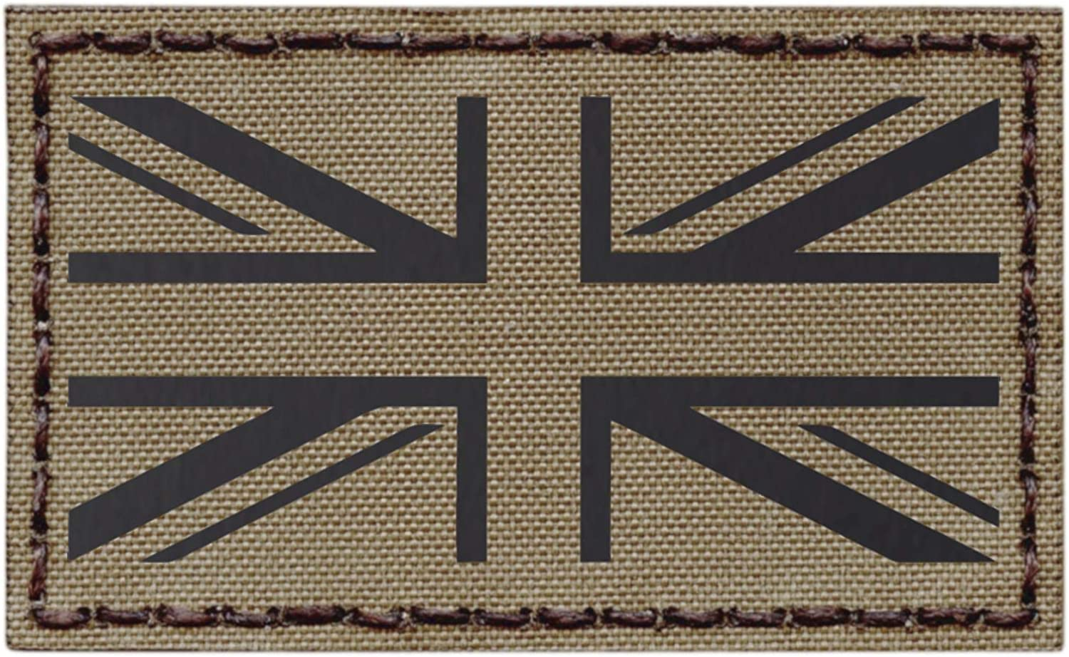 Tactical Year-end gift Freaky Big 3x5 Max 45% OFF Tan IR UK Flag Brown I Jack Union Coyote