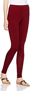 LUX LYRA Women's Leggings (LYRA IC Legg Maroon_Freesize)