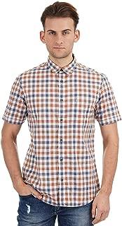Indian Terrain Men's Checkered Slim fit Casual Shirt