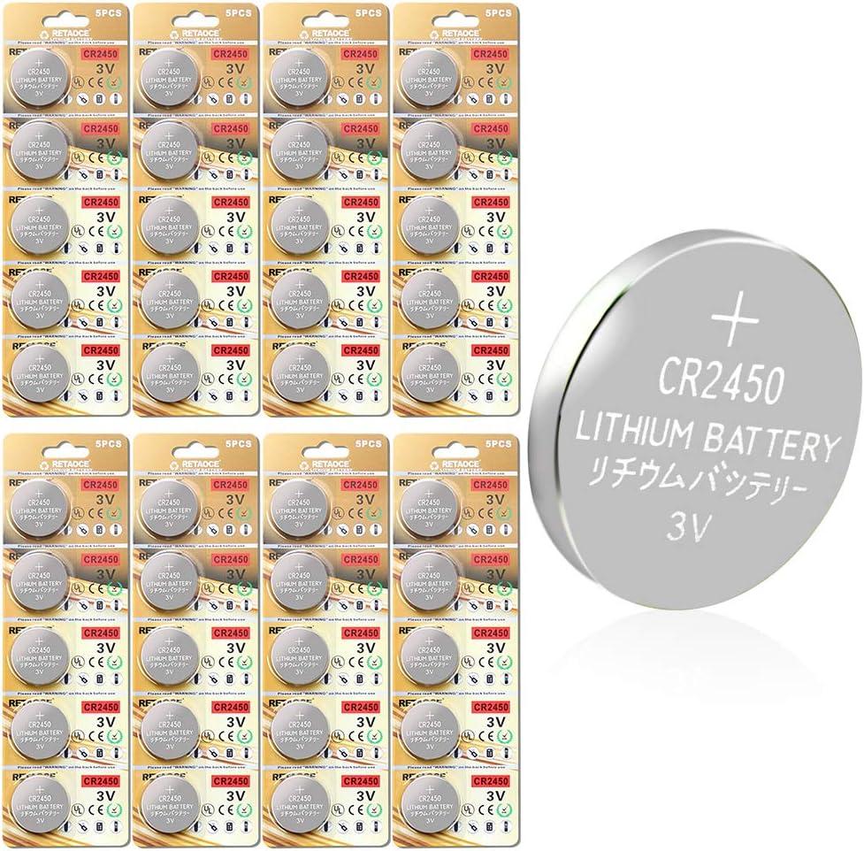 Cr2450 Batterie 3v Lithium Knopfzelle 600 Mah Uhren Elektronik