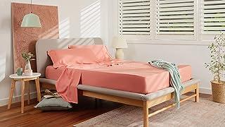Koala Sheet Set Lyocell Fibres- Color Retention, Breathability, Gentle on Skin, Long Lasting Silky Soft Sheets   Bedding S...