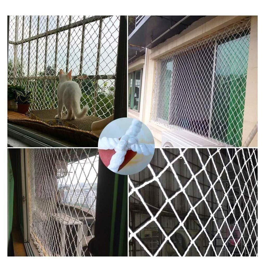 Red de soga de jardín red de seguridad red de carg Redes para balcón para gatos ,