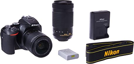 Nikon D5600 DSLR with 18-55mm f/3.5-5.6G VR and 70-300mm f/4.5-6.3G ED