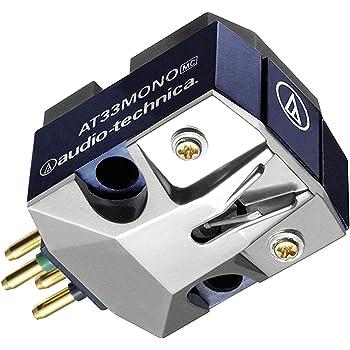 オーディオテクニカ MC型(ムービングコイル)モノラルカートリッジ AT33MONO