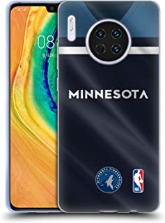 Official NBA Road Jersey 2018/19 Minnesota Timberwolves Soft Gel Case Compatible for Huawei Mate 30