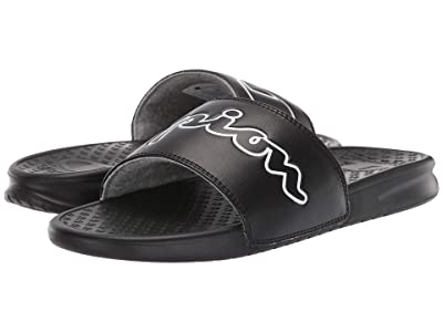 Champion Super Slide Split Script (Black/White) Men