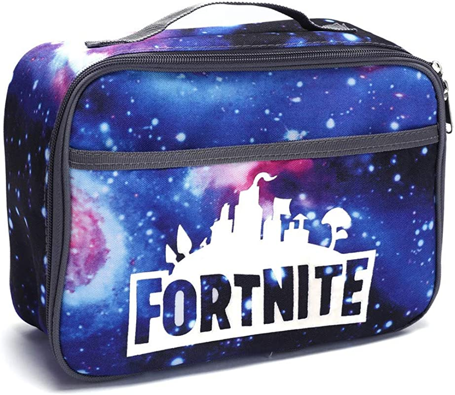 Chifave Lunch Box Insulated Lunch Bag Leakproof School Lunch Bag Meal Tote Kit Tough Spacious Adult Lunchbox Starry Blue