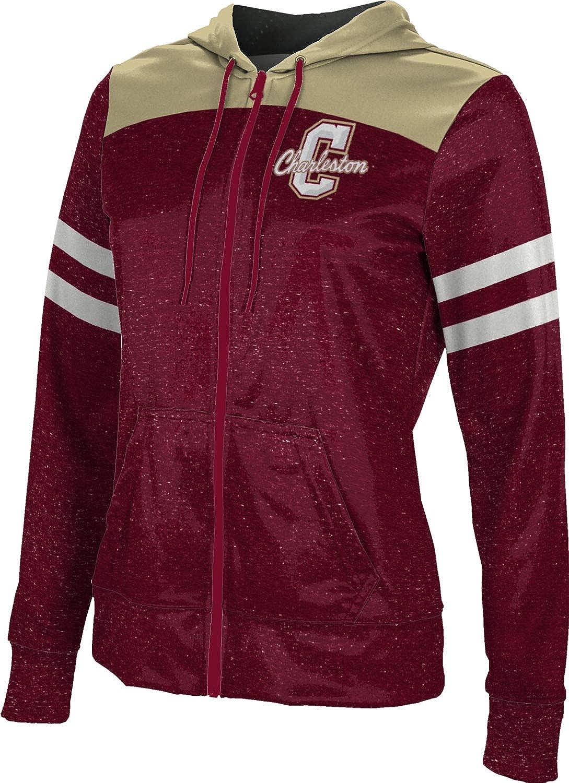ProSphere College of Charleston University Girls' Zipper Hoodie, School Spirit Sweatshirt (Gameday)