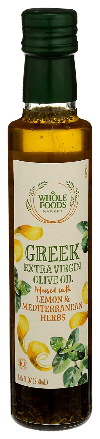 Whole Foods Market, Extra Virgin Olive Oil, Greek Infused with L