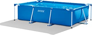 INTEX Metal Rectangular Frame Pool, Blue, 3 Mt x 2 Mt, 28272