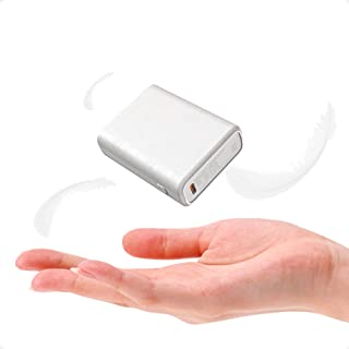 TNTOR モバイルバッテリー 大容量 10000mAh 超軽量 小型 持ち運び便利 iPhone&Android各機種対応 電熱ベスト対応(Type-Cケーブル付き 日本語説明書付き)【PSE認証済】ホワイト