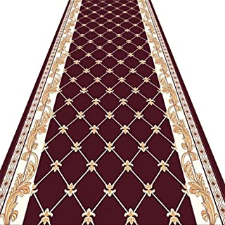 Non-Slip Carpet YANZHEN Hallway Runner Rugs Extra Long Entrance Non-Slip Mat Soft 7mm Thick Moisture-Proof Blended Fibers,...