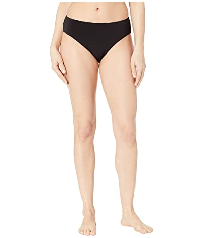 Robin Piccone Ava High-Waist Bottoms (Black) Women