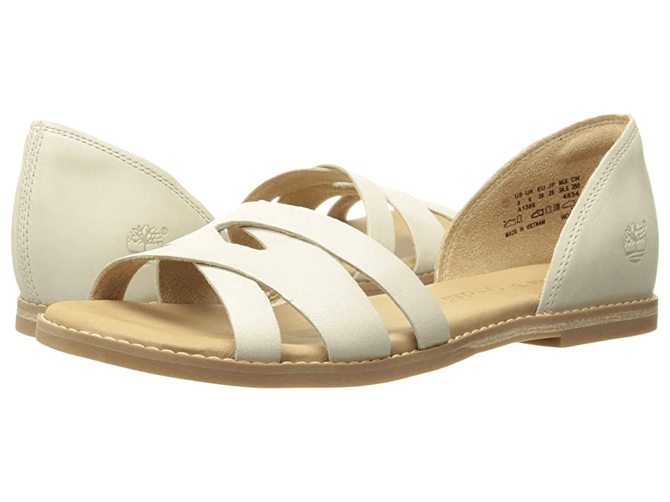 Timberland Caswell Closed Back Sandal (Off White Antique) Women