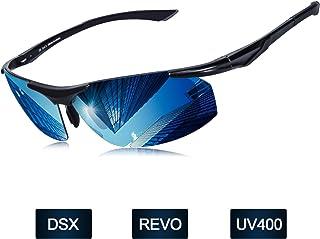 c0109a17a8 Elegear Gafas de Sol Hombre Polarizadas Gafas Deportivas Súper Ligero y  Cómodo Anti UVA UV Marco