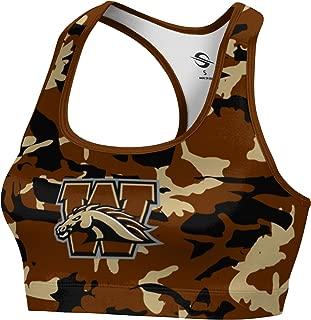 Western Michigan University Women's Sports Bra - Camo