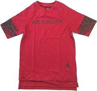 Jordan Jumpman Big Boys T-Shirt Gym Red Size Large 12-13 Years