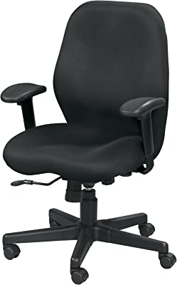 Eurotech Seating Aviator Swivel Tilt Mesh Chair, Black