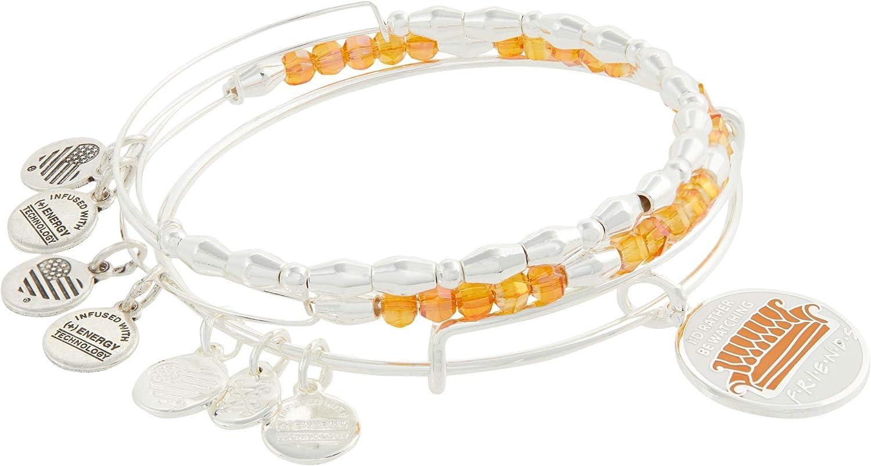 Alex and Ani Friends Set of 3 Bangle Bracelet