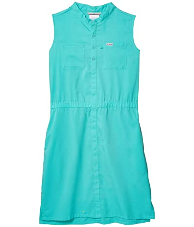 Columbia Kids Tamiami Sleeveless Dress (Little Kids/Big Kids) (Dolphin) Girl