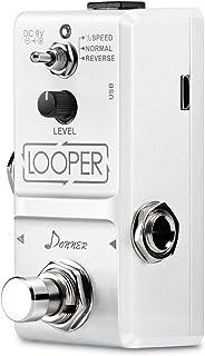 Donner – Versión Avanzada Looper Pedal de Efectos para Guitarra True Bypass Color Blanco