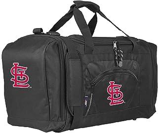 MLB St. Louis Cardinals Roadblock Duffel Roadblock Duffel, Black, 20L x 11.5 x 13