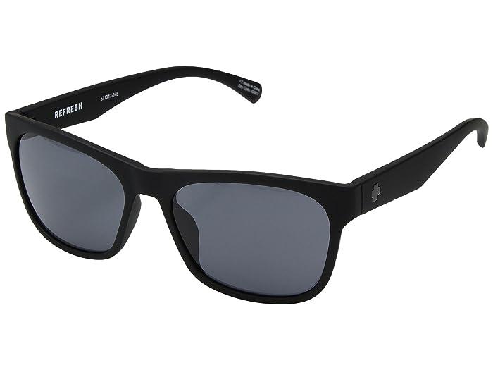 Spy Optic Sundowner (Matte Black/Gray) Sport Sunglasses