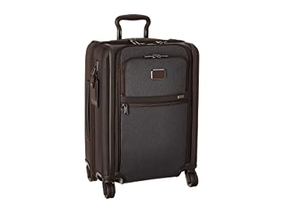 Tumi Alpha 3 Continental Dual Access 4 Wheeled Carry-On (Anthracite) Luggage