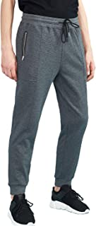 Men's Sweatpants with Pockets and Elastic Bottom Slim Fit Running Tapered Jogger Pants