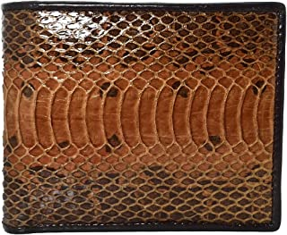 Authentic Snake Skin Men's Bifold Python Snake Wallet