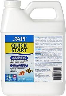 API Quick Start Freshwater and Saltwater Aquarium Nitrifying Bacteria 32-Ounce Bottle