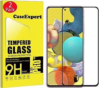 WenTian 2-pack - Samsung Galaxy A51 5G härdat glas, CaseExpert® härdat glas kristallklart skärmskydd skydd och poleringsdu...