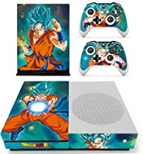 Vanknight Vinyl Decal Skin Stickers Cover for Xbox One S/Slim Console 2 Controllers
