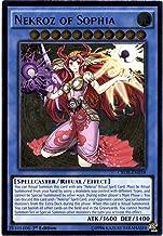 Yu-Gi-Oh! - Nekroz of Sophia (CROS-EN038) - Crossed Souls - Unlimited Edition - Ultimate Rare