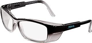 Safety Glasses Reduce Eye Strain & Fatigue, UV Protection, Anti Fog Coating Clear Blue Light Blocking Lens(ZL001-Gray)