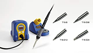 Hakko FX888-23BY Soldering Station with T18-B/D08/D12/D24 Tips