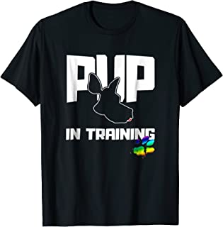 Gay Human Pup Play In Training T-Shirt