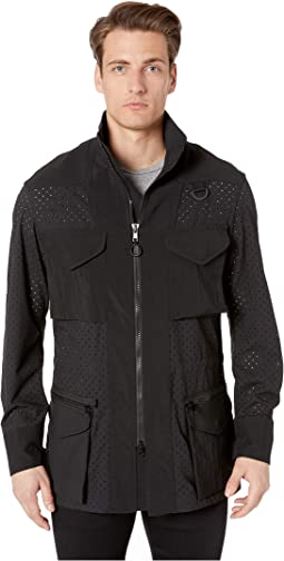 Checker Mesh Field Jacket